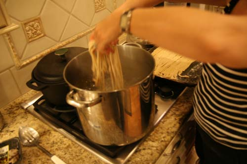 how to make homemade pici pasta