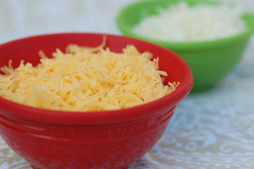Bowls of Cheese