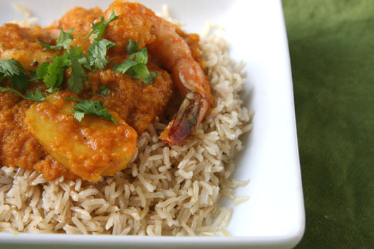 ShrimpCurryPlate