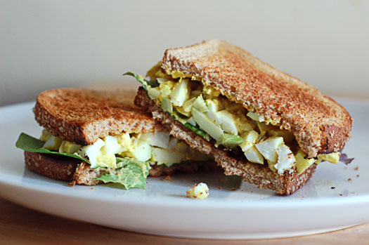 Curried Egg Salad sandwiches from A Cozy Kitchen are a great ...