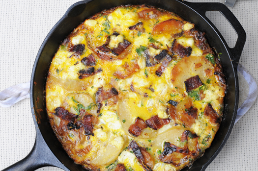 Potato Frittata – A Cozy Kitchen