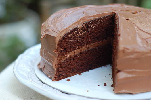 Chocolate Cake With Mayonnaise And Vinegar