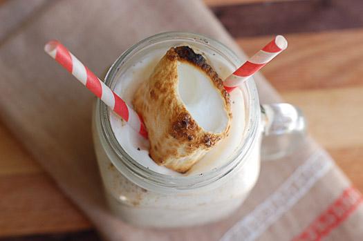 Stand's Toasted Marshmallow Milkshake
