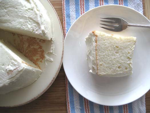 Healthy lemony angel food cake a cozy kitchen i forumfinder Images