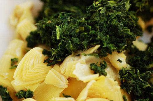 a spinach artichoke dip a