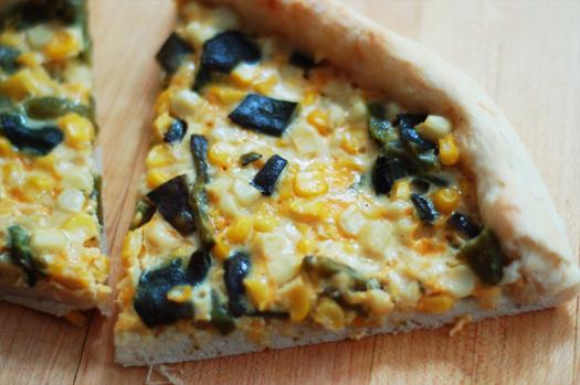 Fresh Corn, Poblano, And Cheddar Pizza Recipes — Dishmaps