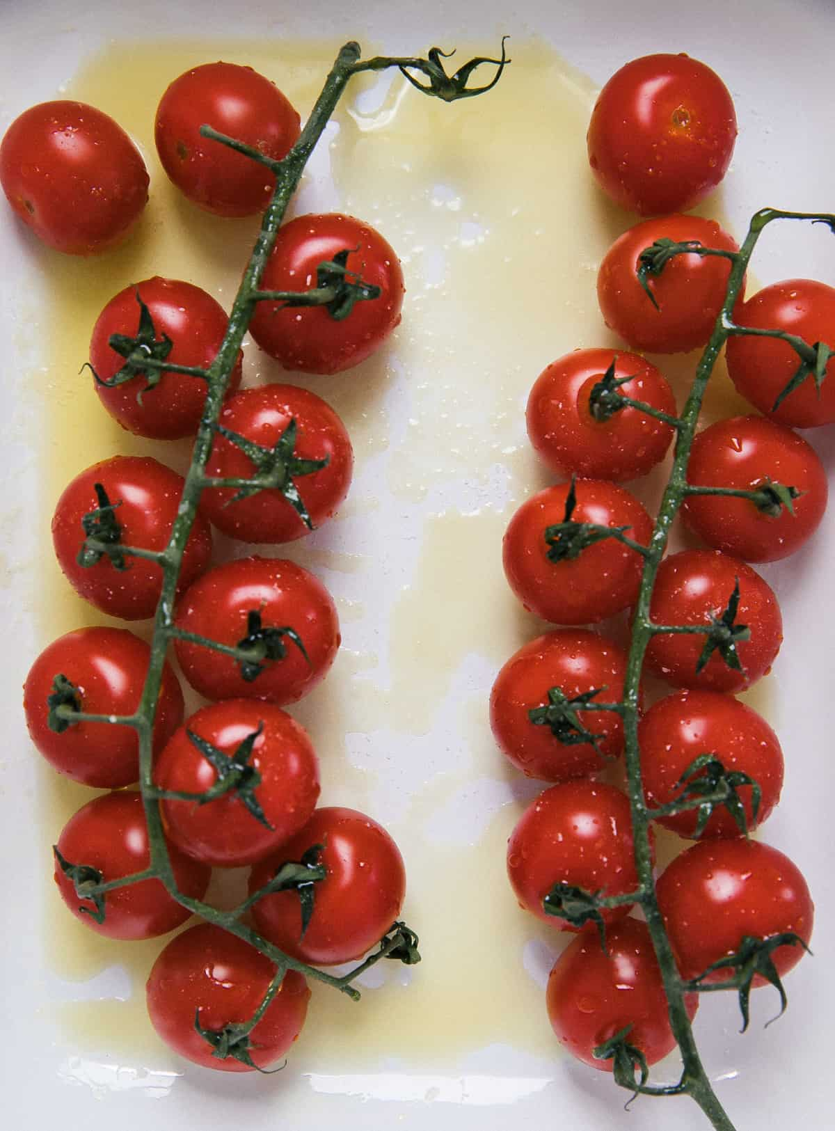 Closeup of tomatoes