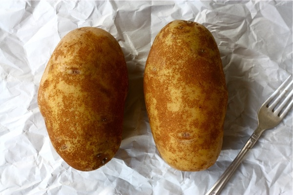 how to cook a twice baked potato in the microwave