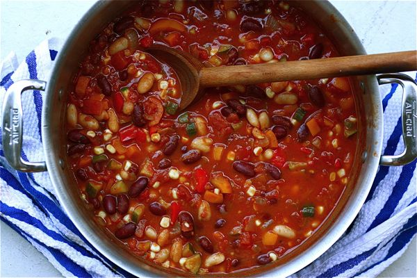 spicy vegan chili click for details mvp chili johnsonville com click ...