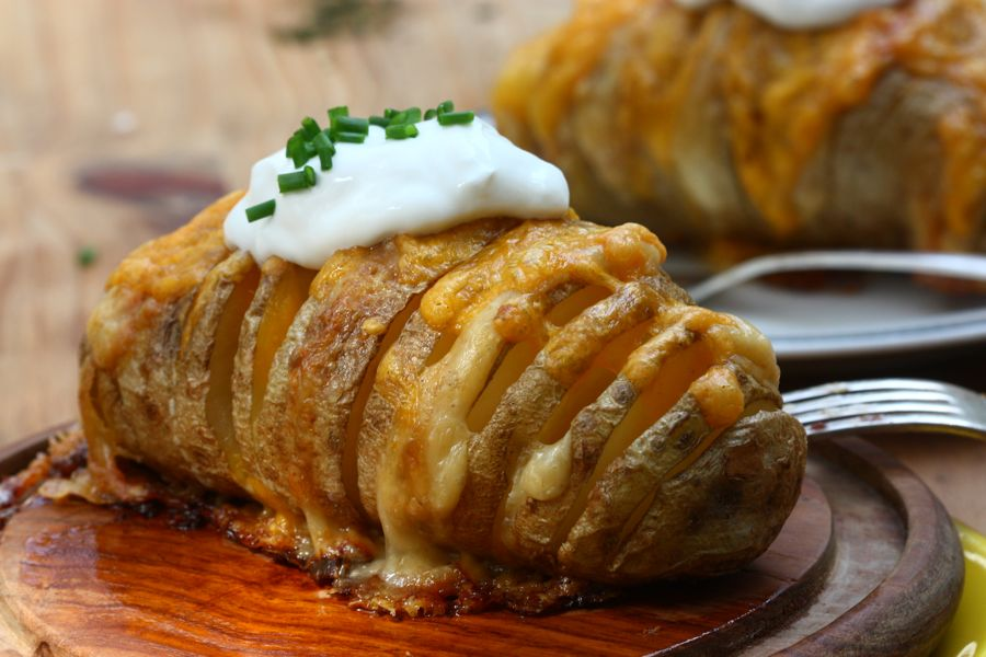 scalloped hasselback potatoes � a cozy kitchen