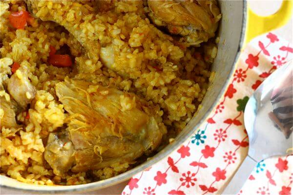 Dad's Arroz con Pollo