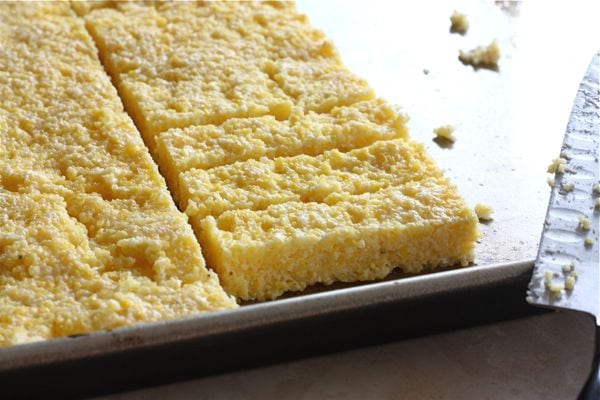 how to prepare and bake polenta