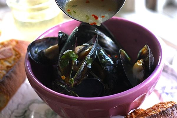spicy steamed mussels in miso broth recipes dishmaps miso broth ...