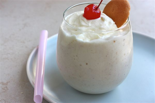 Roasted Banana Pudding Milkshake – A Cozy Kitchen