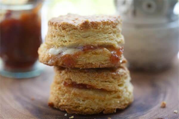 Flaky Buttermilk Biscuits Buttermilk biscuits