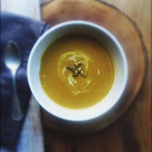 Spicy Pumpkin Soup Recipe — Dishmaps