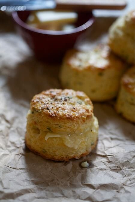 sage and fontina buttermilk biscuits a cozy kitchen