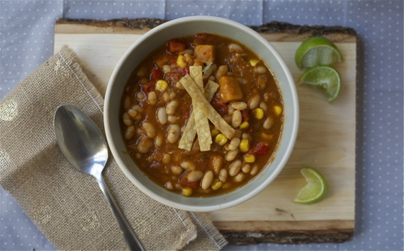 Vegan Chili with Northern White Beans
