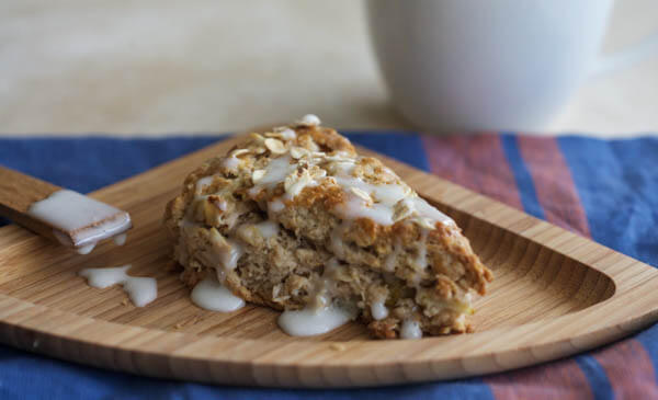 Pear and Oatmeal Scones