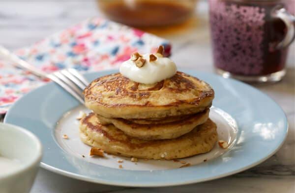 Pretzel Pancakes