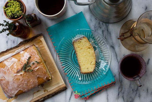 Grapefruit Yogurt Pound Cake