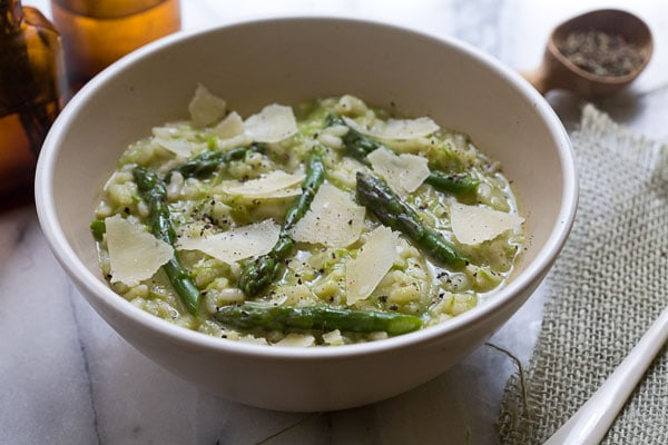 Etsy: Asparagus and Goat Cheese Risotto