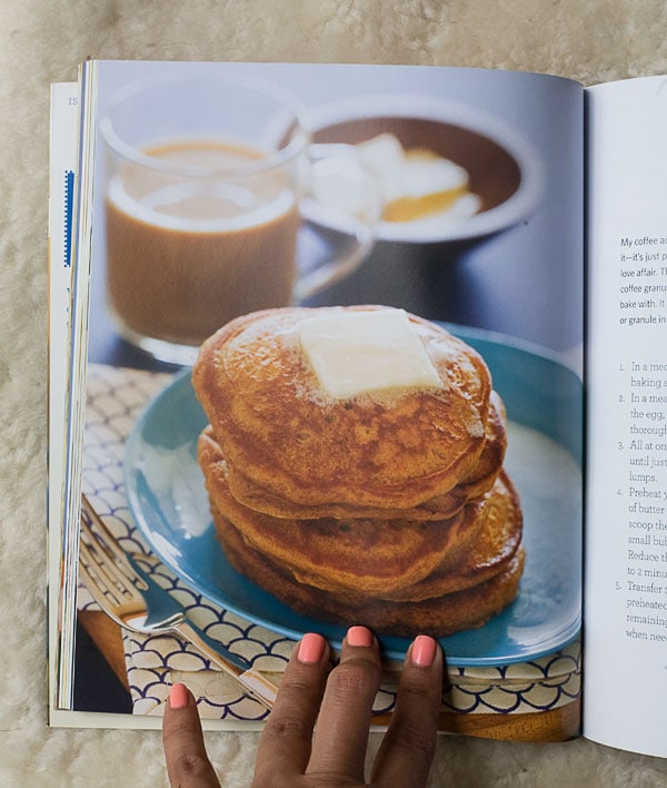 Banana Bourbon Pancakes