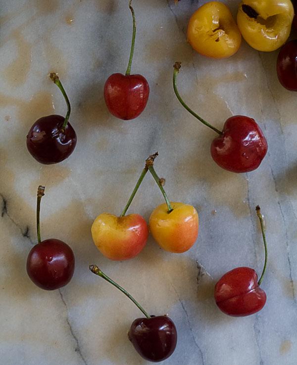 Sweet Cherry Pie with a Rye Pie Crust