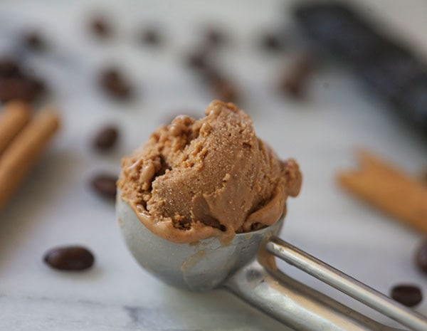 Mexican Chocolate Chile Ice Cream // A Cozy Kitchen