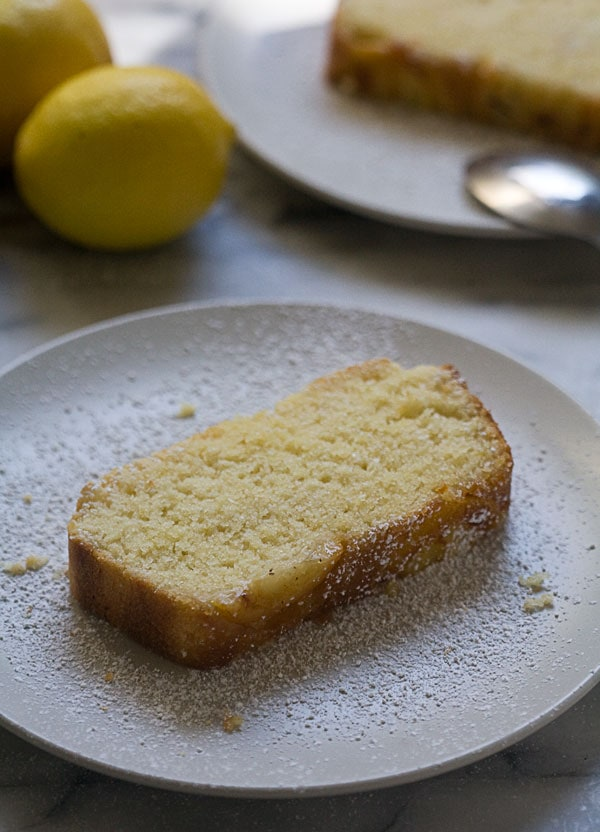 Lemon Upside Down Cake // A Cozy Kitchen