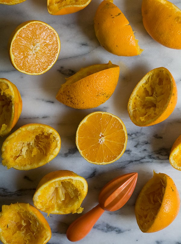 Homemade Orange Sherbet // www.acozykitchen.com