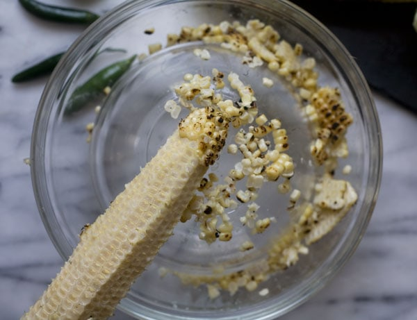 Elote Salad // A Cozy Kitchen