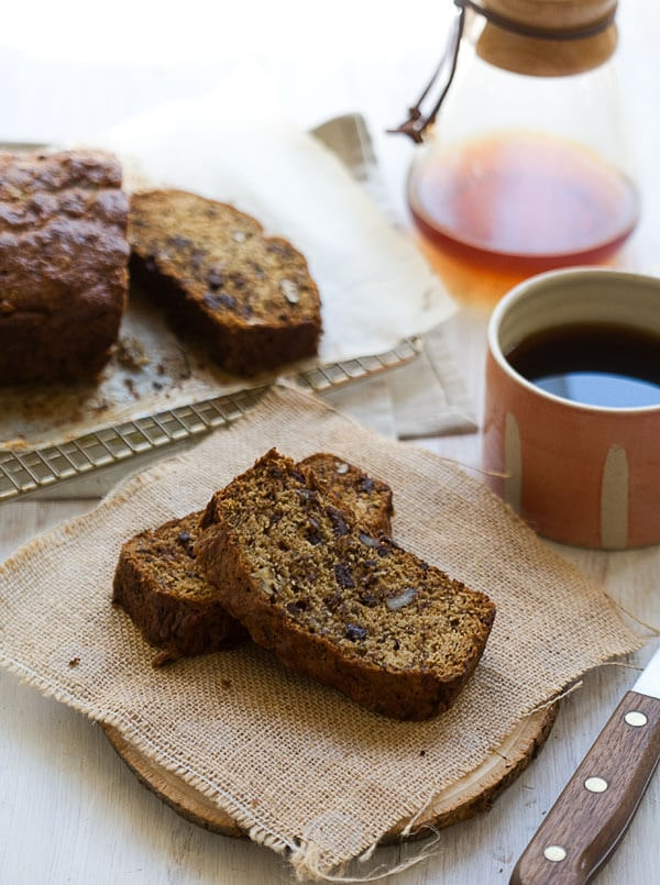 Burnt Banana Rum Bread // www.acozykitchen.com