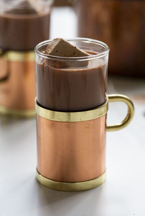 How to Make Fancy-Ass Hot Chocolate // www.acozykitchen.com