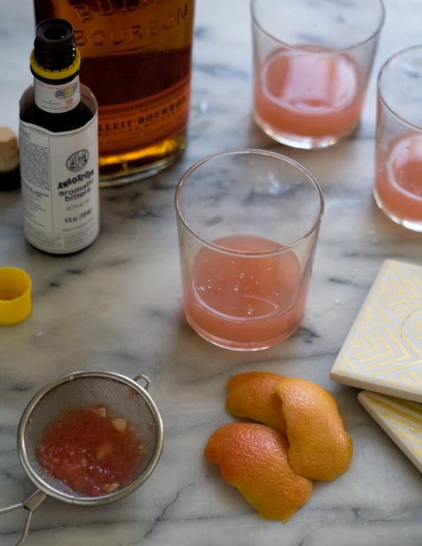 Grapefruit Old Fashioned – A Cozy Kitchen