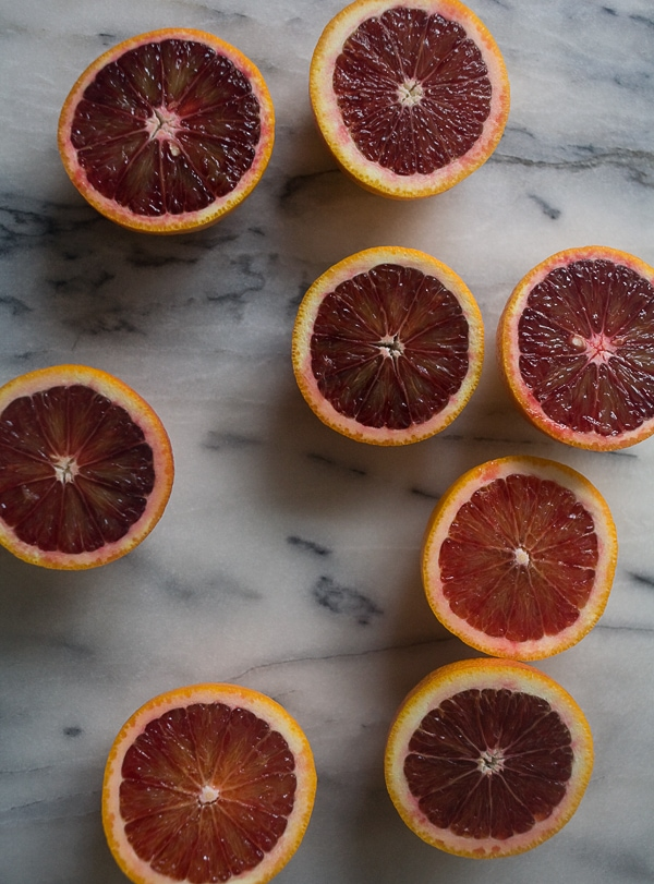 Blood Orange Granita // www.acozykitchen.com