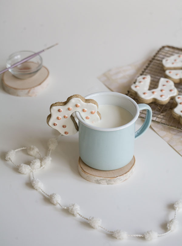 Rye Cloud Sugar Cookies // www.acozykitchen.com