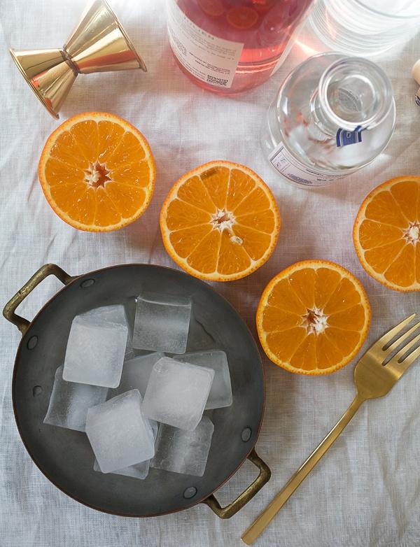 Tangelo Gin Rosé Spritzer // www.acozykitchen.com