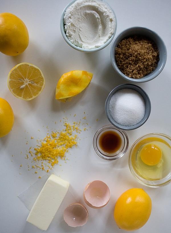 Meyer Lemon Ricotta Muffins with Rosemary Glaze // www.acozykitchen.com