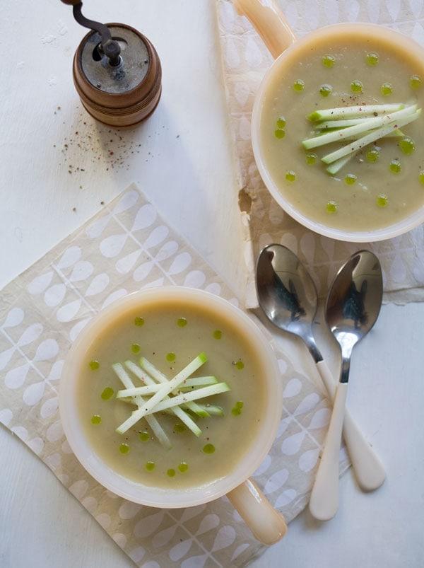 Sunchoke Apple Soup // www.acozykitchen.com