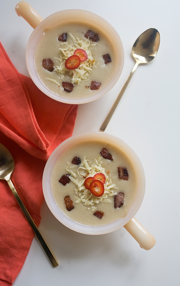 Bacon Potato Habanero Soup // www.acozykitchen.com