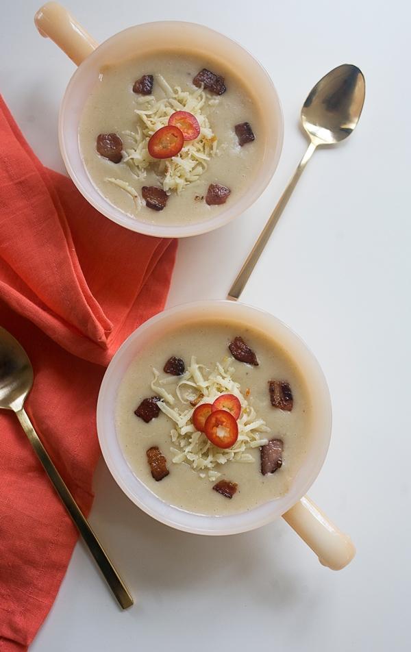 Bacon Potato Habanero Soup // www.acozykitchen.com