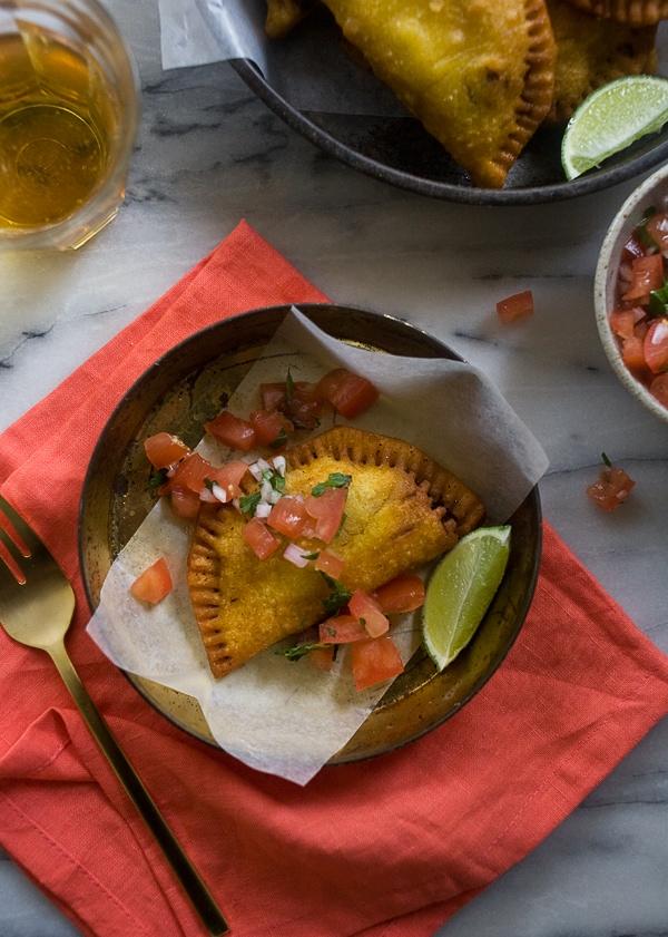Colombian Empanadas // www.acozykitchen.com
