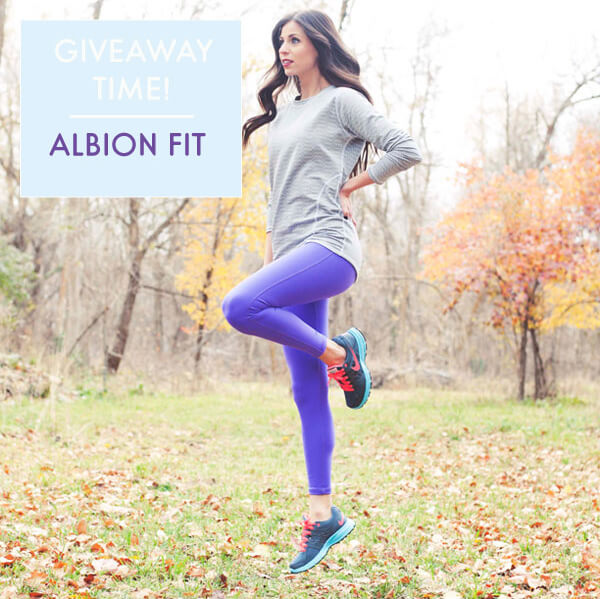 Albion Fit Giveaway // www.acozykitchen.com