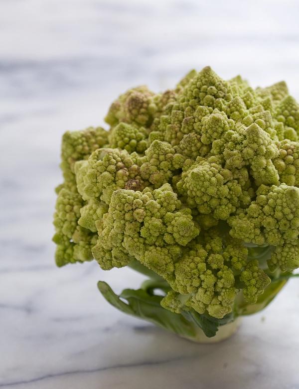 Romanesco Cauliflower Mash // www.acozykitchen.com