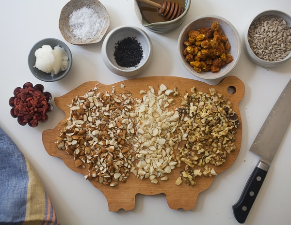 Nutty, Seeded, Grain-Free Granola | www.acozykitchen.com