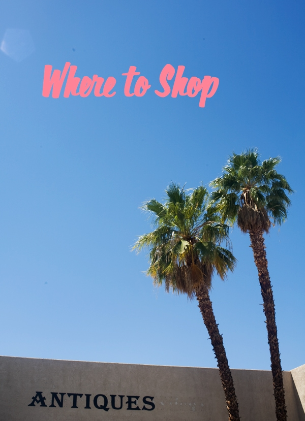 Palm Springs Guide // www.acozykitchen.com