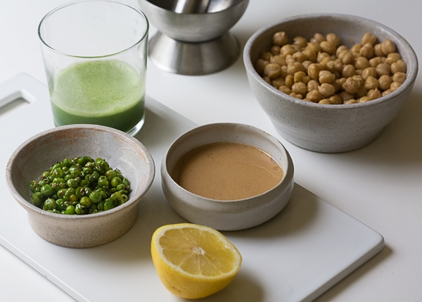 Blistered Pea Hummus | www.acozykitchen.com