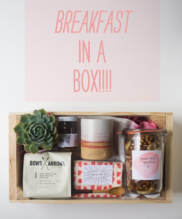 Breakfast In A Box A Mother S Day Idea A Cozy Kitchen