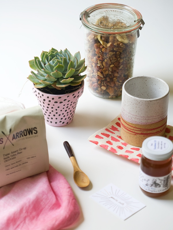 Mother's Day Gift Idea: Breakfast In a Box | www.acozykitchen.com